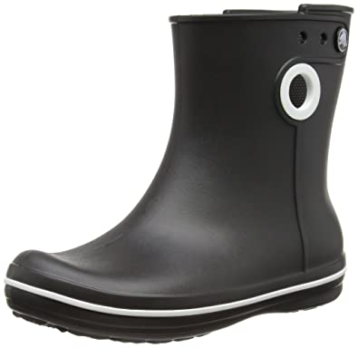 cdc9bd24355 Crocs Crocband Jaunt Short Womens Synthetic Material Wellies Black - 2.5 UK