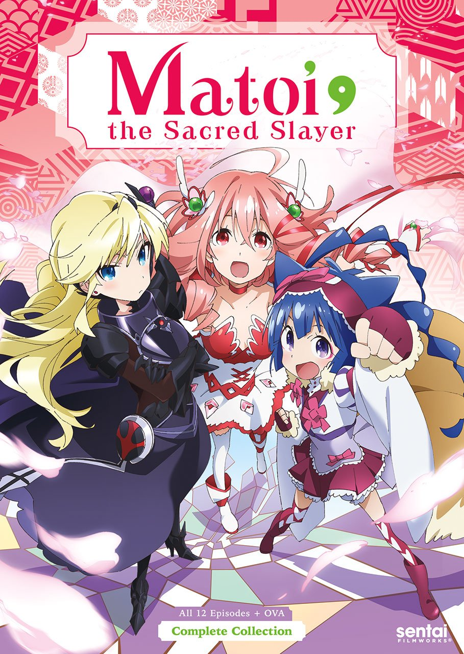 Matoi the Sacred Slayer DVD (Sub Only)