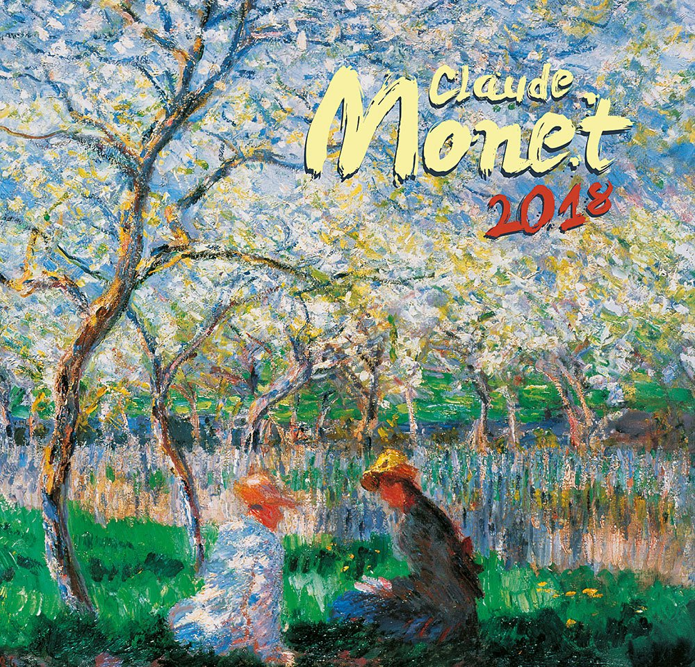 claude monet calendar 2018 calendar calendar 2017 wall calendar by presco group