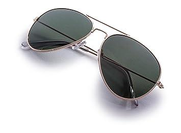Amazon.com: Alta calidad impact-resistant Aviator – Gafas de ...