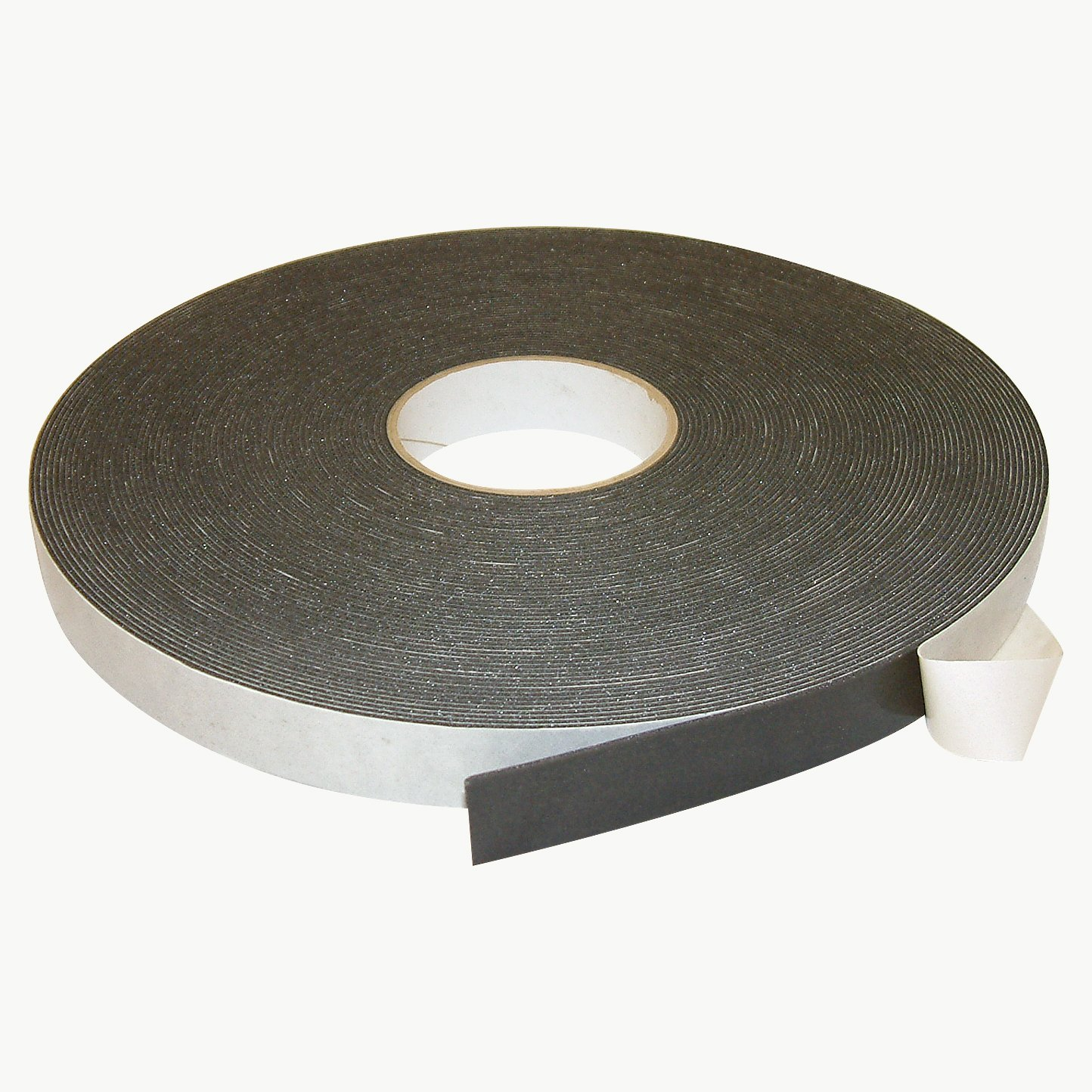 J.V. Converting DC-PEF06A/BLK136006 JVCC DC-PEF06A Double Coated Polyethylene Foam Tape: 1/16'' Thick x 1'' x 36 yd, Black