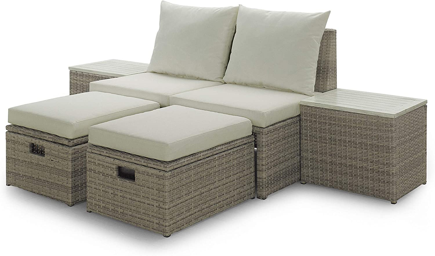 Sunset Garden SG25 Vista Outdoor Furniture Set, Cream