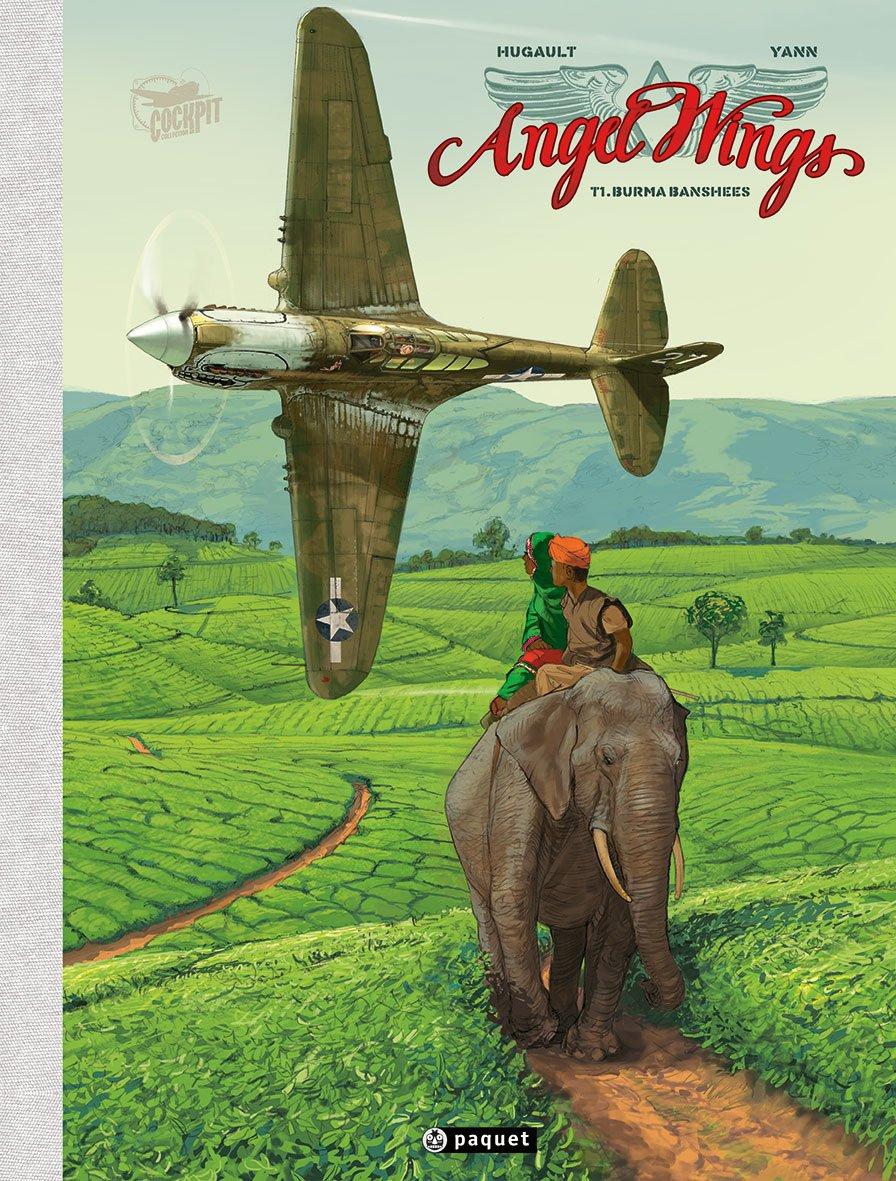 Angel Wings, Tome 1 : Burma Banshees - Grand Format