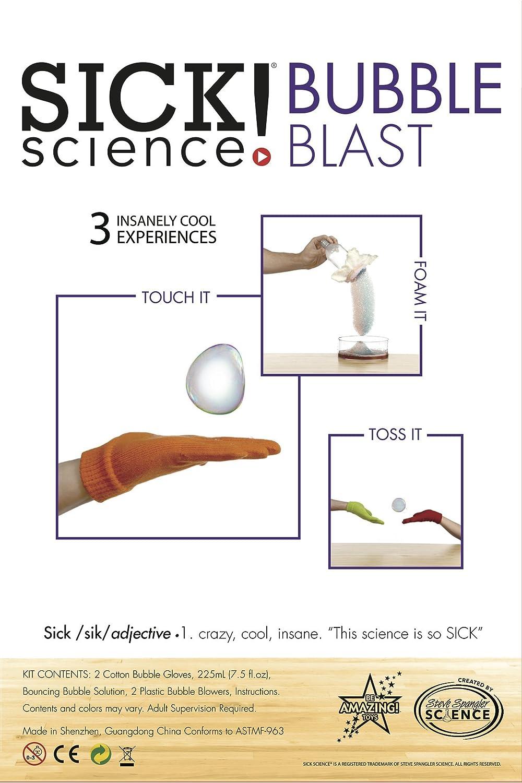 Be Amazing Toys Sick Science Bubble Blast
