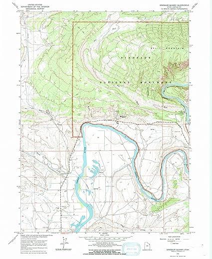 Amazon.com: Utah Maps | 1965 Dinosaur Quarry, UT USGS ... on mosasaur map, jungle book map, hamster map, jurassic period map, the great movie ride map, raptor map, jurassic world map, plesiosaurus map, drumheller alberta map, mass extinction map, the lego movie map, epic map, crocodilian map, snow day map, bat map, the explorers map, jurassic park map, cretaceous period map, iguanodon map,