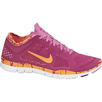 8874a9482cf4 ... coupon for nike wmns free 5.0 tr fit 4 prt bright magenta orange 629832  501 35c47