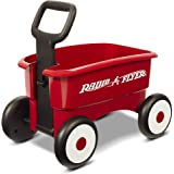 Radio Flyer My 1st 2-in-1 WAGON Ride On, Red