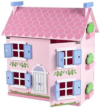 Tidlo Miau0027s Cottage Wooden Dolls House