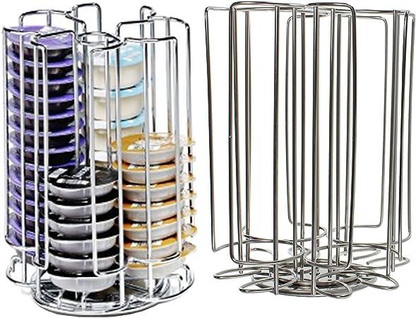 52 rotación de T-Disc soporte para cápsulas de cafetera de ...