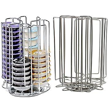 52 rotación de T-Disc soporte para cápsulas de cafetera de cápsulas de Pods (52 soporte para dispensador de torre): Amazon.es: Hogar