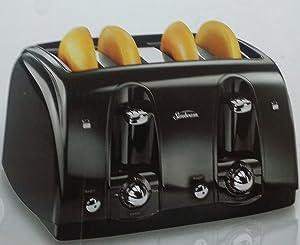 Sunbeam 4 Slice Toaster - Black