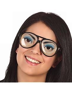 2 X Cristales De Gafas Broma Gag Ojos Divertidos Para Hombre Vestido