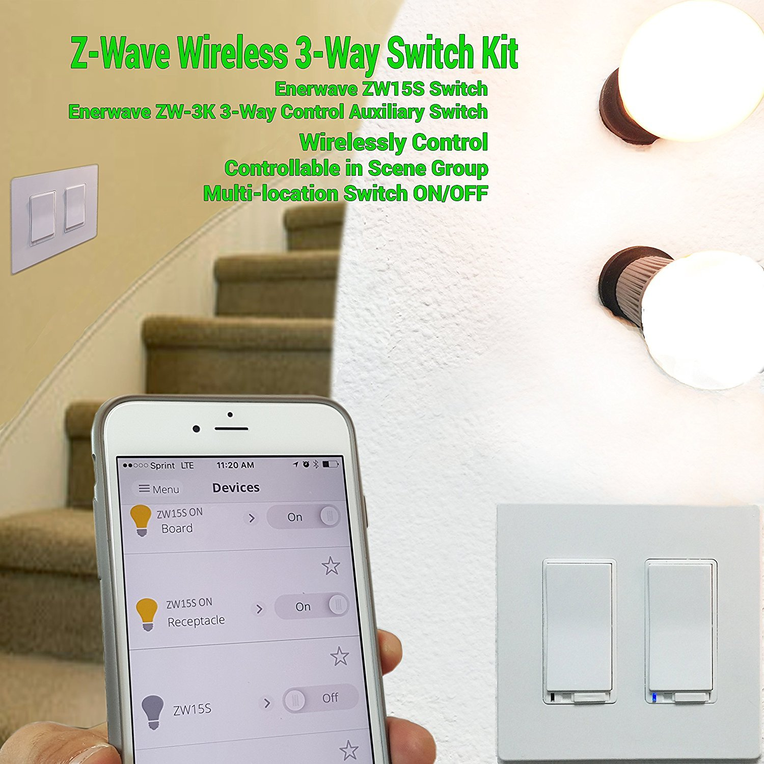Zw15s 3 Way Wiring Diagram Another Diagrams Smart Switch Add On By Enerwave Z Wave Home Rh Amazon Com 2
