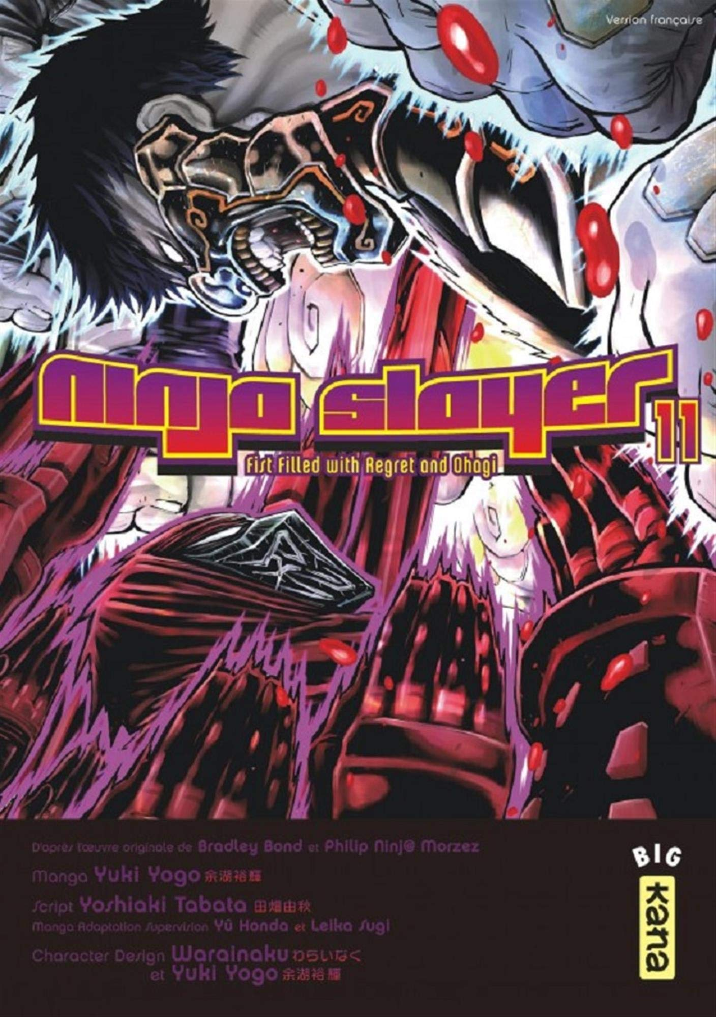 Ninja Slayer, Tome 11 : Fist Filled with Regret and Ohagi ...