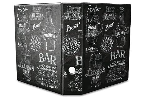 Diseño de documentos Carpeta estampado 60 mm din a4 cerveza variedades