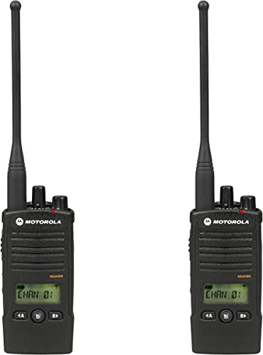 Motorola RDU4160D RDX Business 2-Way UHF Frequency Professional Two Way Radio 2-Pack
