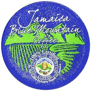 Aroma Ridge Jamaica Blue Mountain Coffee, 12 Count