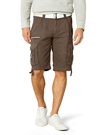 7fd7bc5386 Geographical Norway Poudre Men Assort a Sports Shorts: Amazon.co.uk:  Clothing