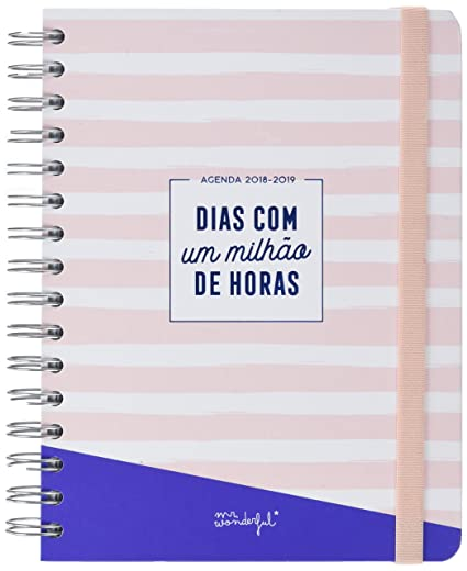Mr. Wonderful Agenda Clásica De Un Millón De Horas, Multicolor, 17 ...