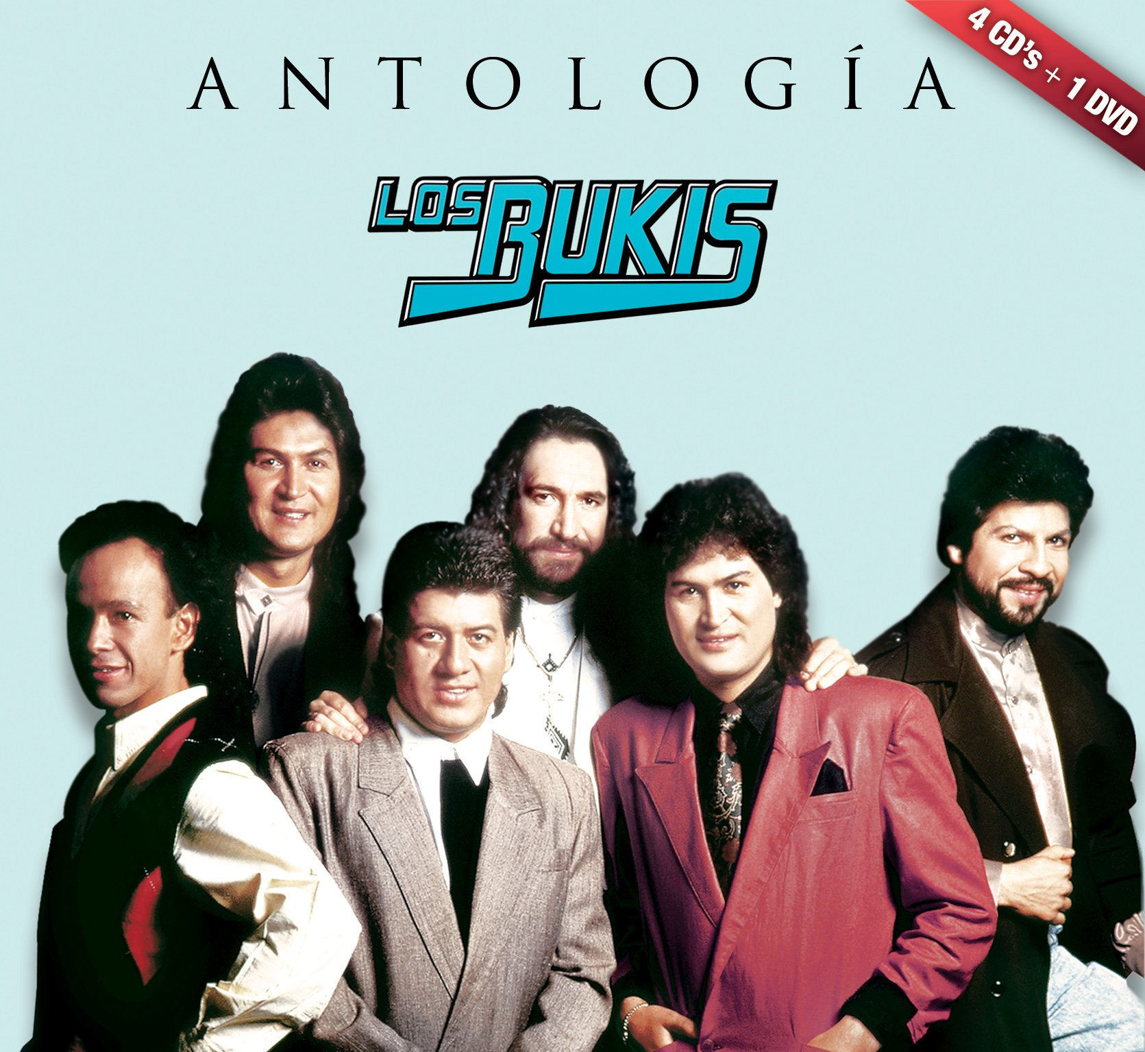CD : Los Bukis - Antologia Musical (With DVD, Boxed Set, 5PC)