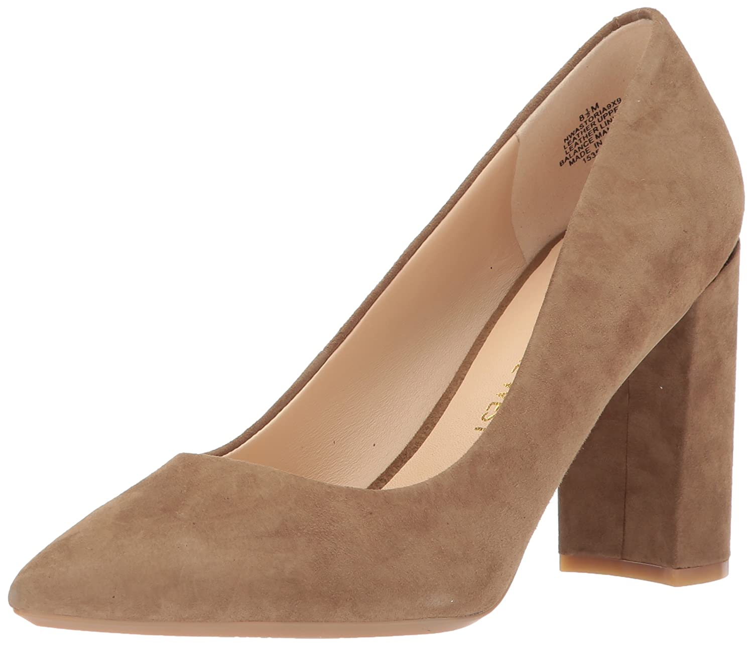 Nine West Women's Astoria Pump B06XMQ9753 9 B(M) US|Green Suede