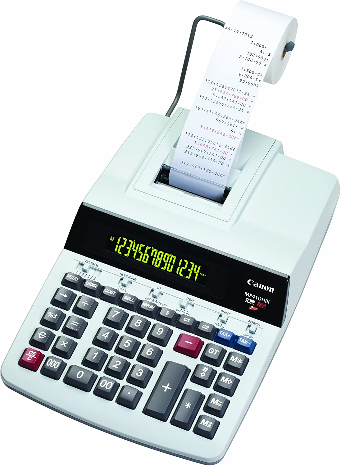 Canon Office Products MP41DHIII Desktop Printing Calculator