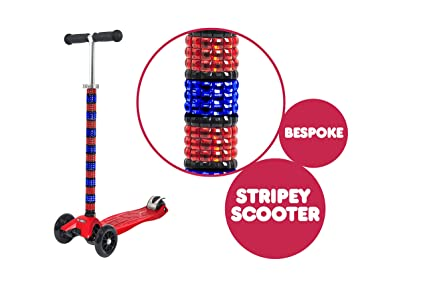 Scoot Patinete personalizado Maxi Micro T Bar, color rojo ...