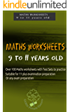 MATHS WORKSHEETS: Suitable for children ages 9 to 11 years old: Practice workbook with over 50 worksheets (Maths Worksheets series 3)