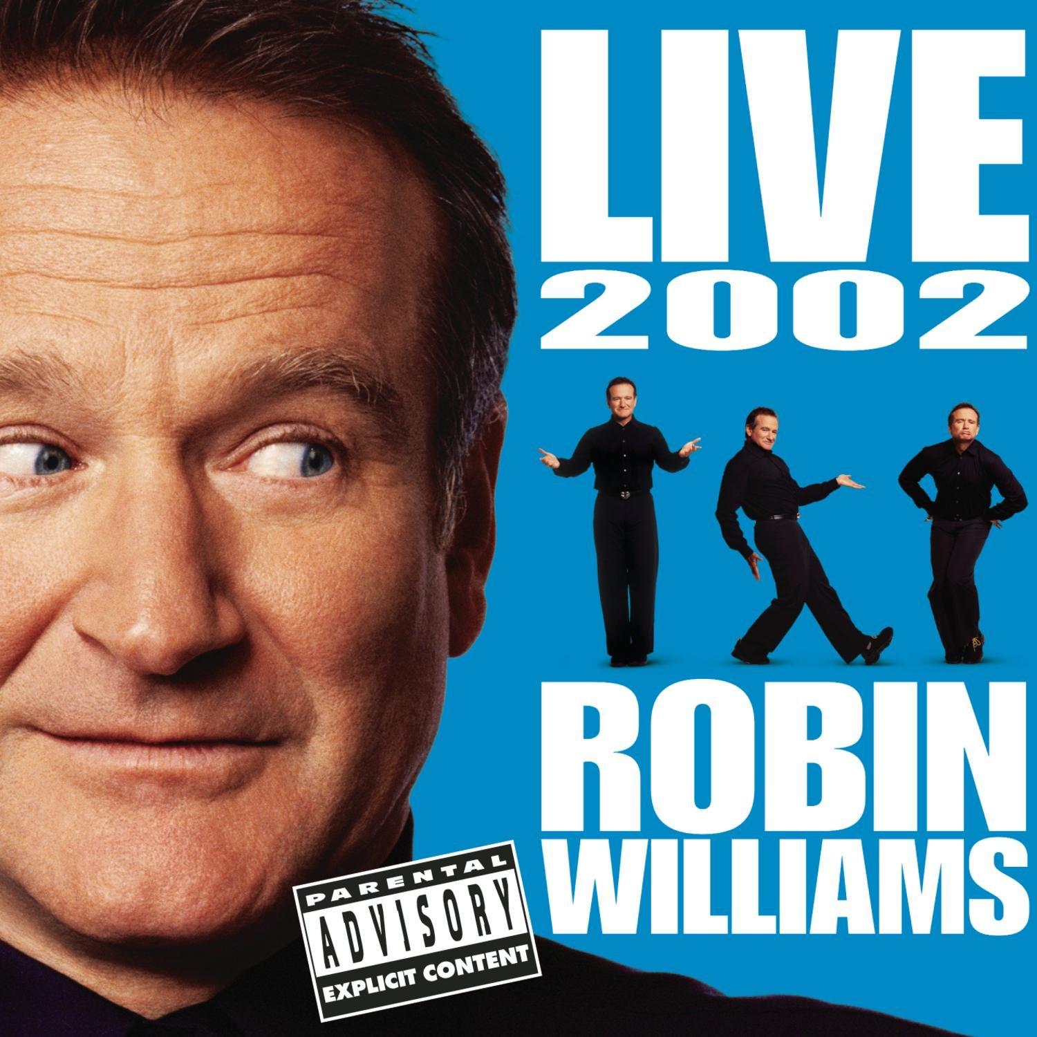 Robin Williams Live 2002 by Sony Legacy