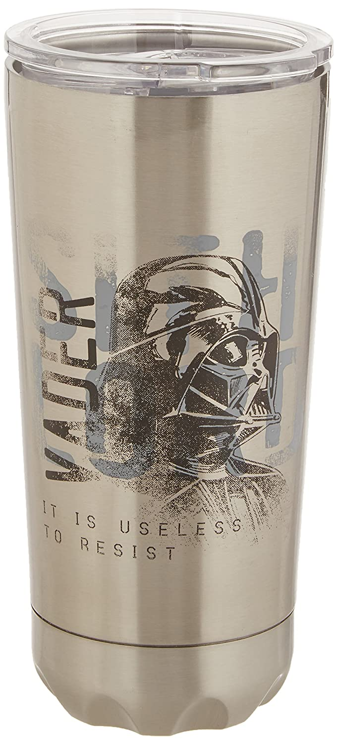 Vandor Star Wars 20-Ounce Stainless Steel Vacuum Travel Tumbler (99409)