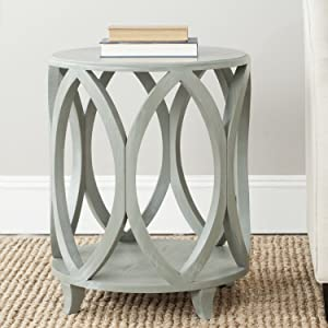 Safavieh American Homes Collection Janika French Grey Accent Table