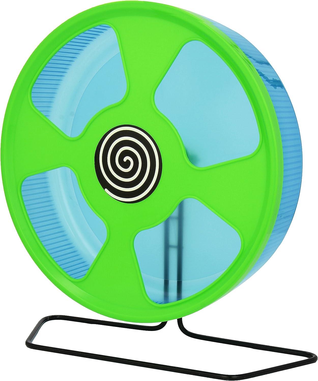 Trixie Noria - Giratoria Hámsters, Plástico, ø28 cm, 30 x 30 x 12 cm, Surtido: Colores Aleatorios, 1 unidad