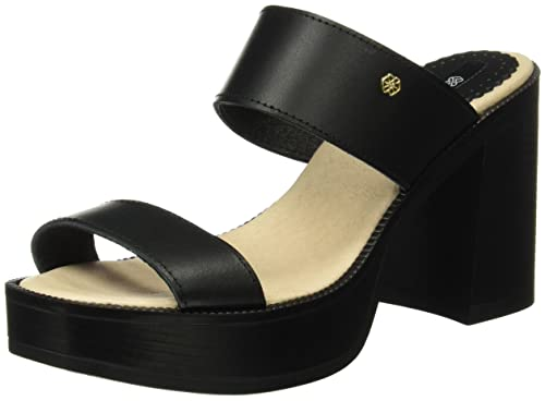 Sandalia Negro, Womens Sandals with an Ankle Strap Cuplé