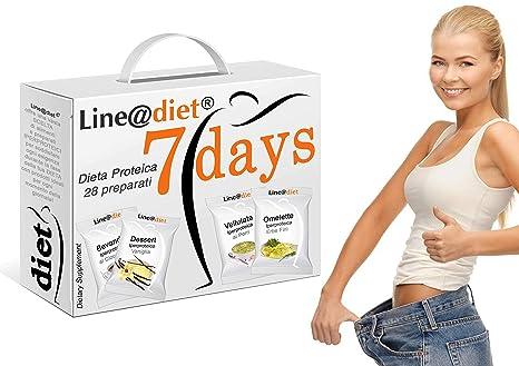 la dieta perde peso in 7 giorni