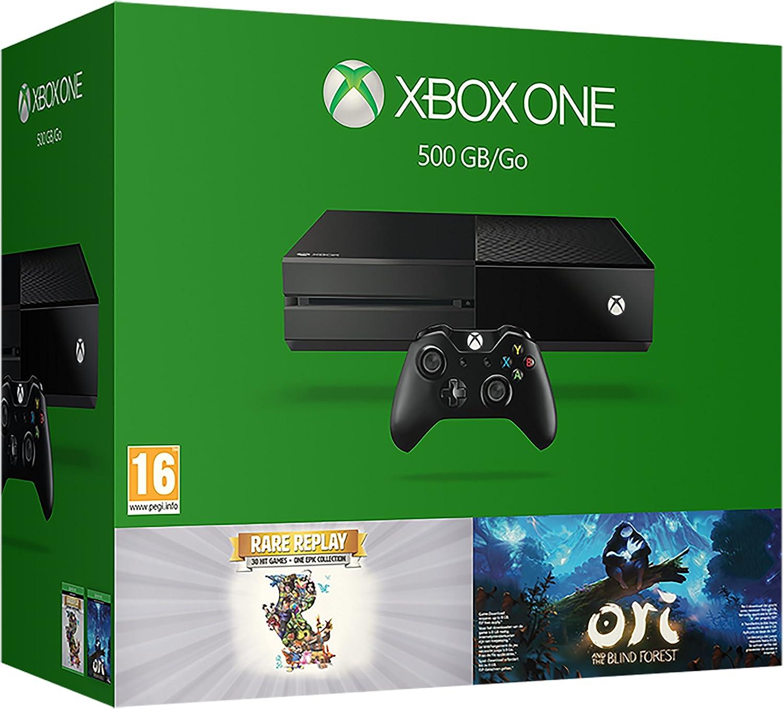 Xbox One 500GB With Ori And Rare Replay [Importación Inglesa]: Amazon.es: Videojuegos
