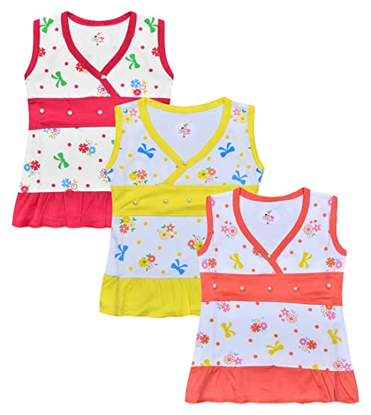 f3160b7794 LEWEL Baby Girls Midi Mini Frocks Cute Dress
