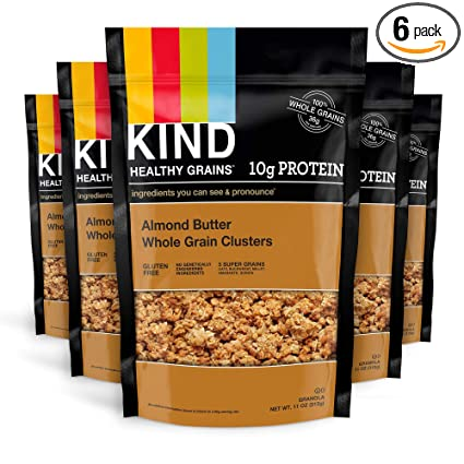 Amazon.com: KIND Granos saludables Clusters, Cenicero con ...