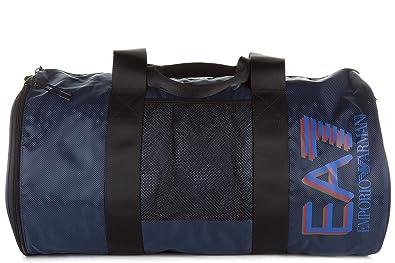 f03181461bc4 Emporio Armani EA7 men s fitness gym sports shoulder bag train visibility  blu