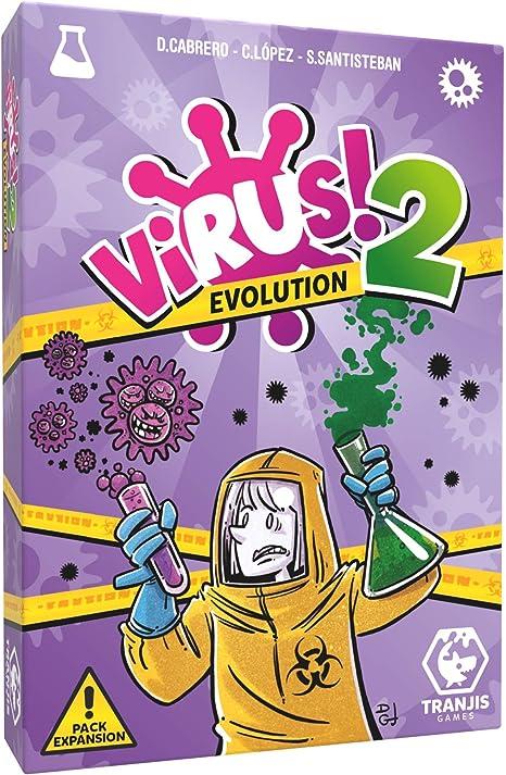 Tranjis Games - VIRUS! 2 Evolution (Expansión) - Juego de cartas ...