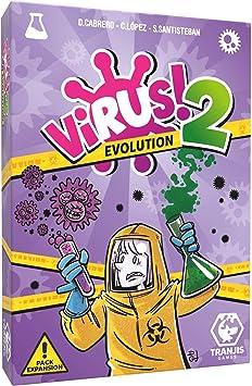 Tranjis Games - VIRUS! 2 Evolution (Expansión) - Juego de cartas (TRG-12evo): Amazon.es: Juguetes y juegos