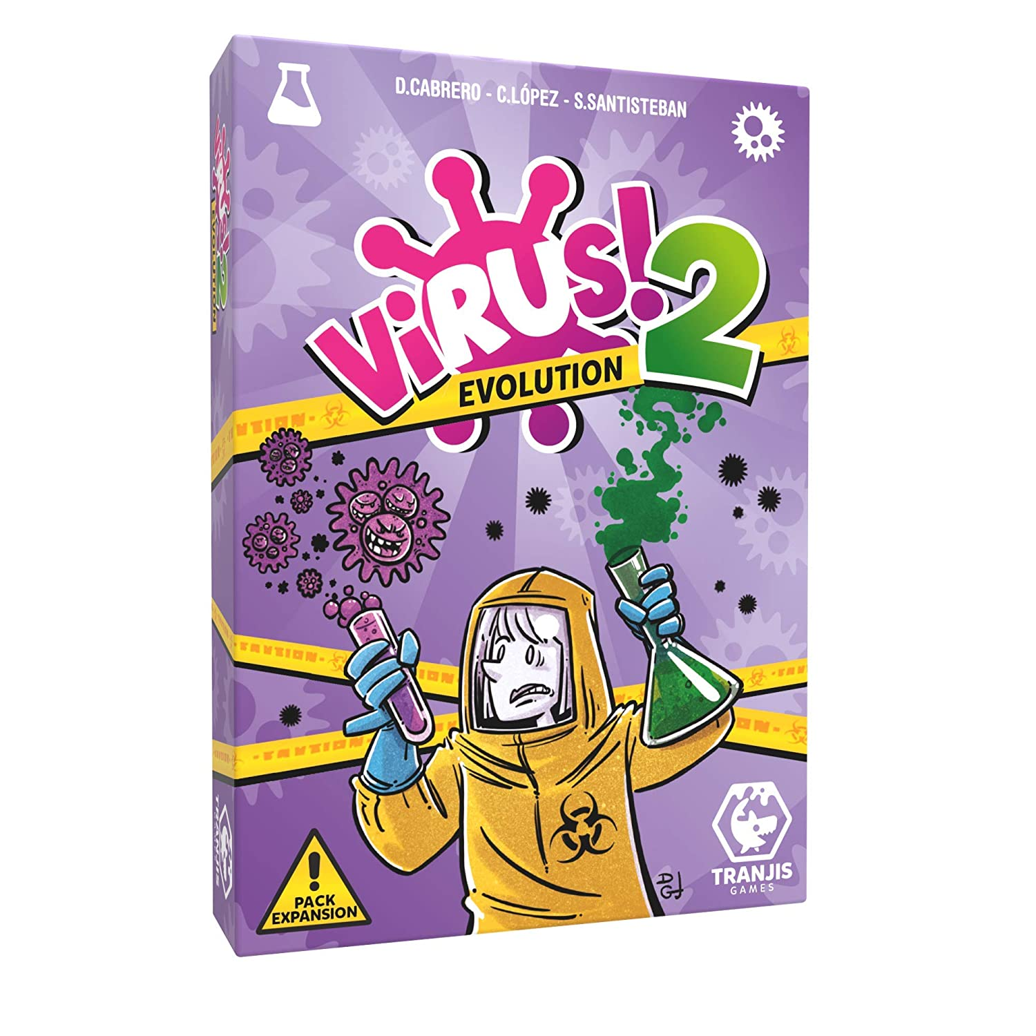 Virus! 2 Evolution https://amzn.to/2Scapsw