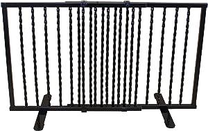 Cardinal Gates Wrought Iron Step Over Freestanding Pet Gate