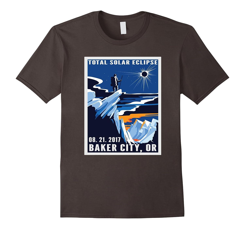 Vintage Baker city Oregon Total Solar Eclipse 2017 shirt-TJ