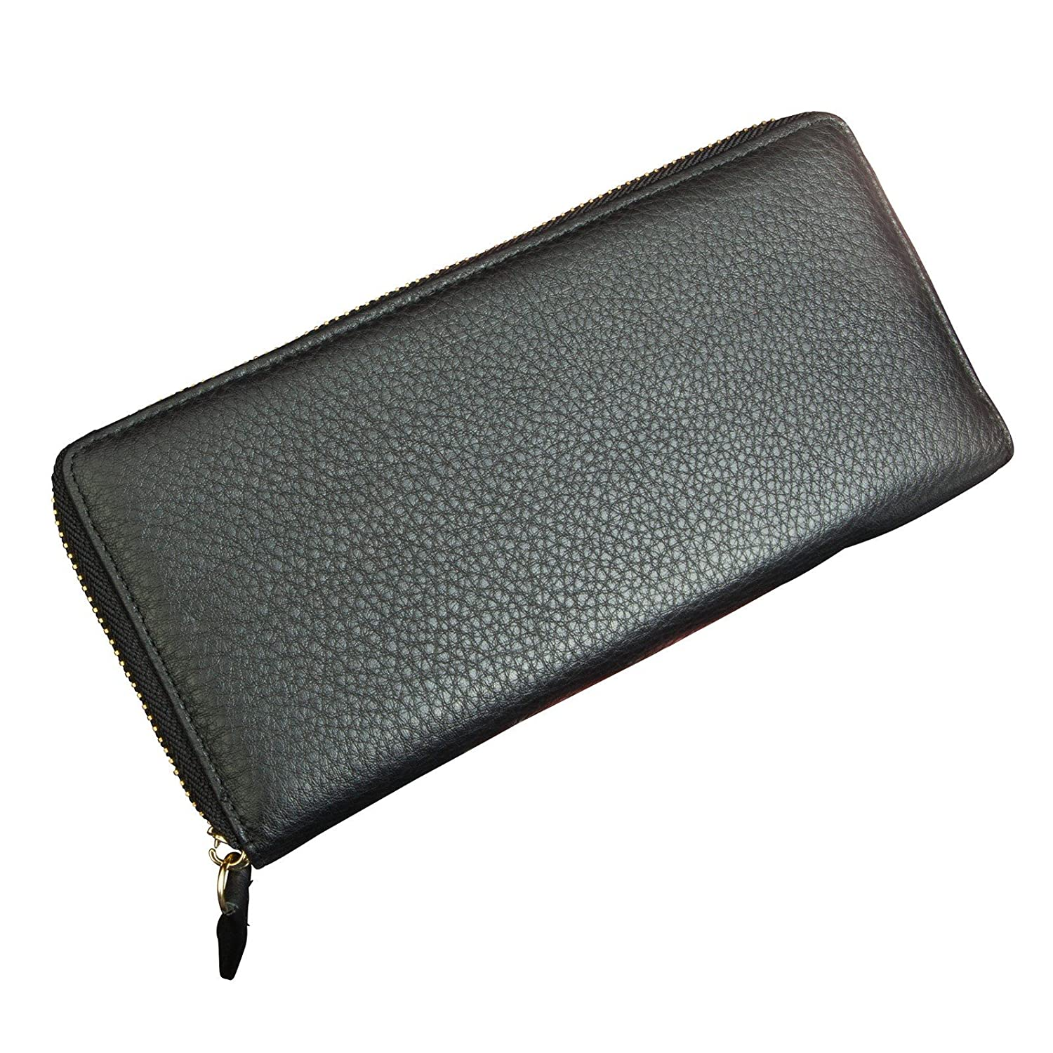 Canyon Outback Leather Marydale Canyon Zip Wallet-Black