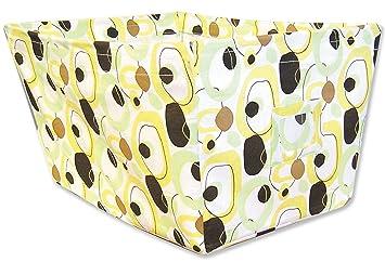Trend Lab Fabric Storage Bin, Gigi Print, Large