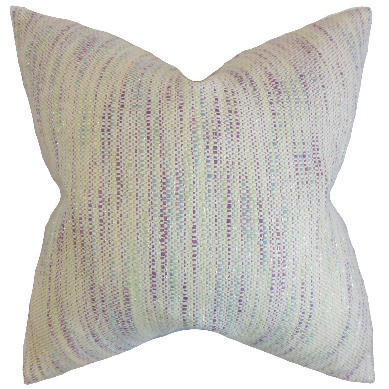 The Pillow Collection Lakota Stripes Bedding Sham Plum King/20' x 36'