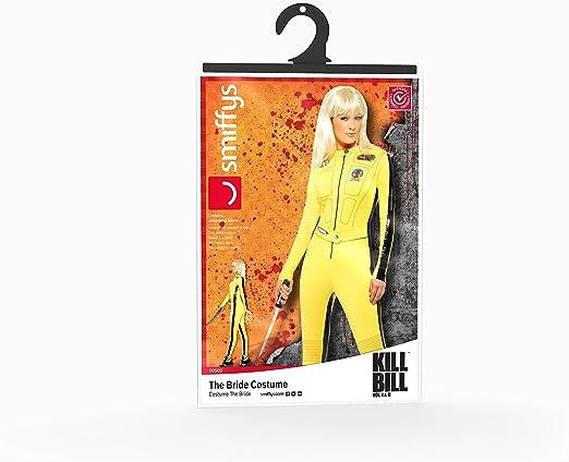 Smiffys Licenciado Oficialmente Disfraz de Kill Bill Vol.1 & Vol.2 ...