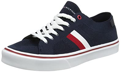 65402befe Tommy Hilfiger Men s Lightweight Corporate Sneaker Low-Top  Amazon ...