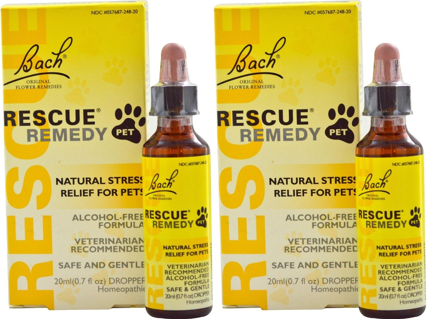 Can rescue remedy be used on dogs