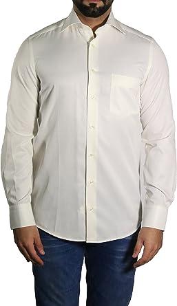 mmuga Diagonal Rayas Camisa de hombre, color crema/ivory, tallas S – 5 x l: Amazon.es: Ropa y accesorios